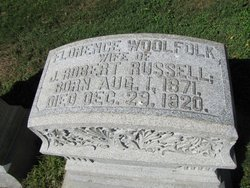Florence <i>Woolfolk</i> Russell