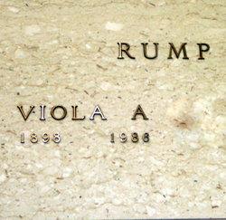 Viola A. <i>Wasson</i> Rump