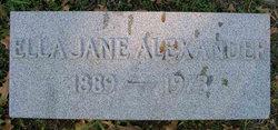 Ella Jane <i>Stephens</i> Alexander