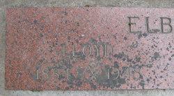 Lloyd Elbon