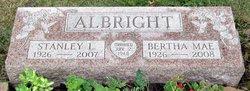 Mrs Bertha Mae <i>Clemens</i> Albright