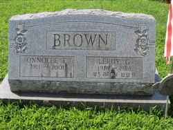Onnolee E. <i>Keefer</i> Brown