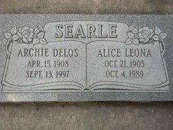 Alice Leona <i>Caldwell</i> Searle