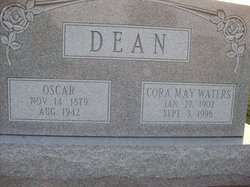 Cora May <i>Waters</i> Dean