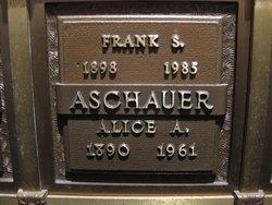 Alice A <i>Doucette</i> Aschauer