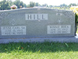Winnie Rhea <i>Tatum</i> Hill