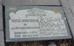 Yousuf Jahan Begum