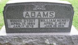 Winnie <i>Stout</i> Adams