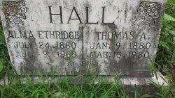 Alma <i>Etheridge</i> Hall