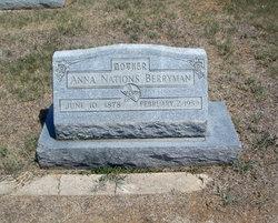 Anna <i>Nations</i> Berryman