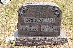 Mary Ann <i>Maybee</i> Greenleaf