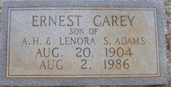 Ernest Carey Adams