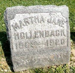 Martha Jane <i>Cassidy</i> Hollenback