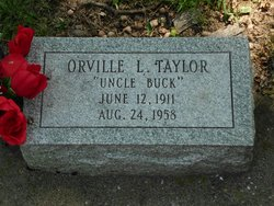 Orville Leroy Uncle Buck Taylor