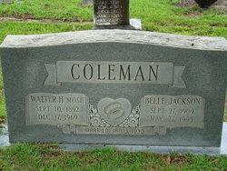 Belle <i>Jackson</i> Coleman