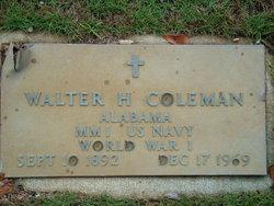 Walter H. Mose Coleman
