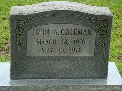 John A. Coleman