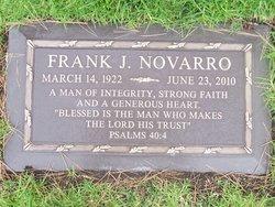 Frank J Novarro