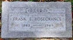 Frank Edwin Rosecrance