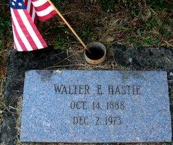 Walter E Hastie