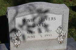 Novie <i>Shivers</i> Davis