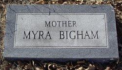 Nancy Elmira Myra <i>Dunlap</i> Bigham