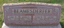 Anna G <i>Immel</i> Beamesderfer