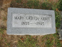 Mary A <i>Griffin</i> Abbey