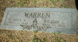 Julia Adeline <i>Bittick</i> Warren