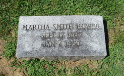 Martha <i>Smith</i> Hower