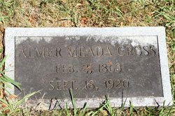 Almer Meada Cross