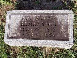 Eva Nadine <i>Ewing</i> Edmonston