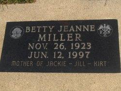 Betty Jeanne Miller