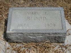 Mary Isabell <i>Evans</i> Blood