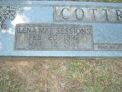 Lena Mae <i>Sessions</i> Cottrell