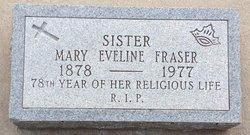 Sr Mary Eveline Fraser
