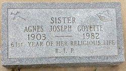 Sr Agnes Joseph <i>Ruby</i> Goyette