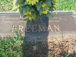 Marshall Lon Freeman
