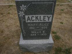Willis Edward Ackley
