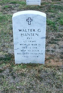 Walter G Hansen