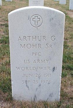 Arthur G Mohr, Sr