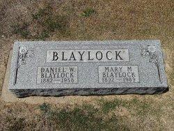 Daniel Webster D. W. Blaylock