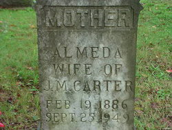 Almeda <i>Patterson</i> Carter