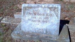 Roselar <i>Davis</i> Burke