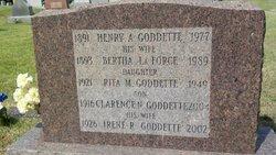 Bertha <i>LaForce</i> Goddette