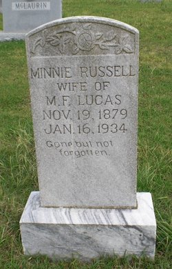 Minnie Blanche <i>Russell</i> Lucas