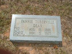 Fannie <i>Tuberville</i> Dean