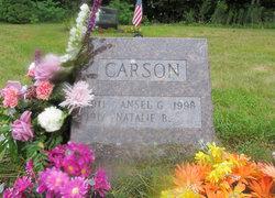 Natalie B <i>Jellison</i> Carson