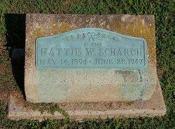 Hattie W <i>Ridgeway</i> Pausey Scharch