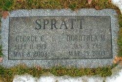 Dorothea M. <i>Sprinkle</i> Spratt